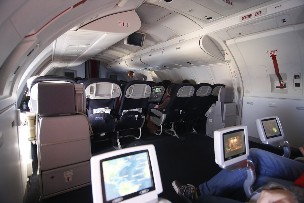 Boeing 747-400 upperdeck Air France