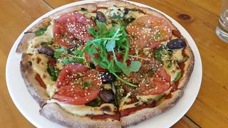 Margherita Pizza at Mandala