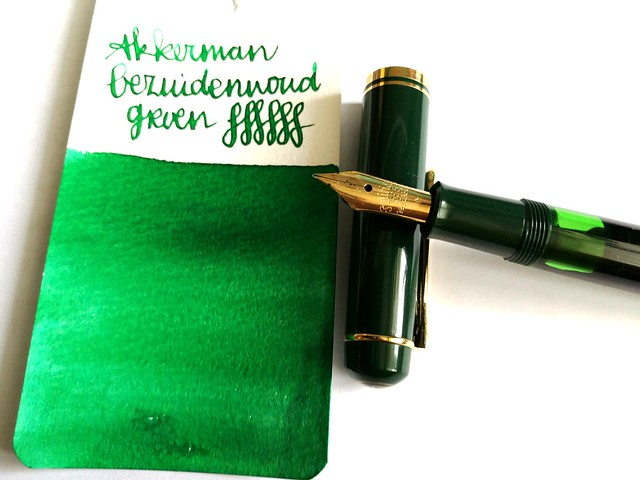 pens and ink M250 green