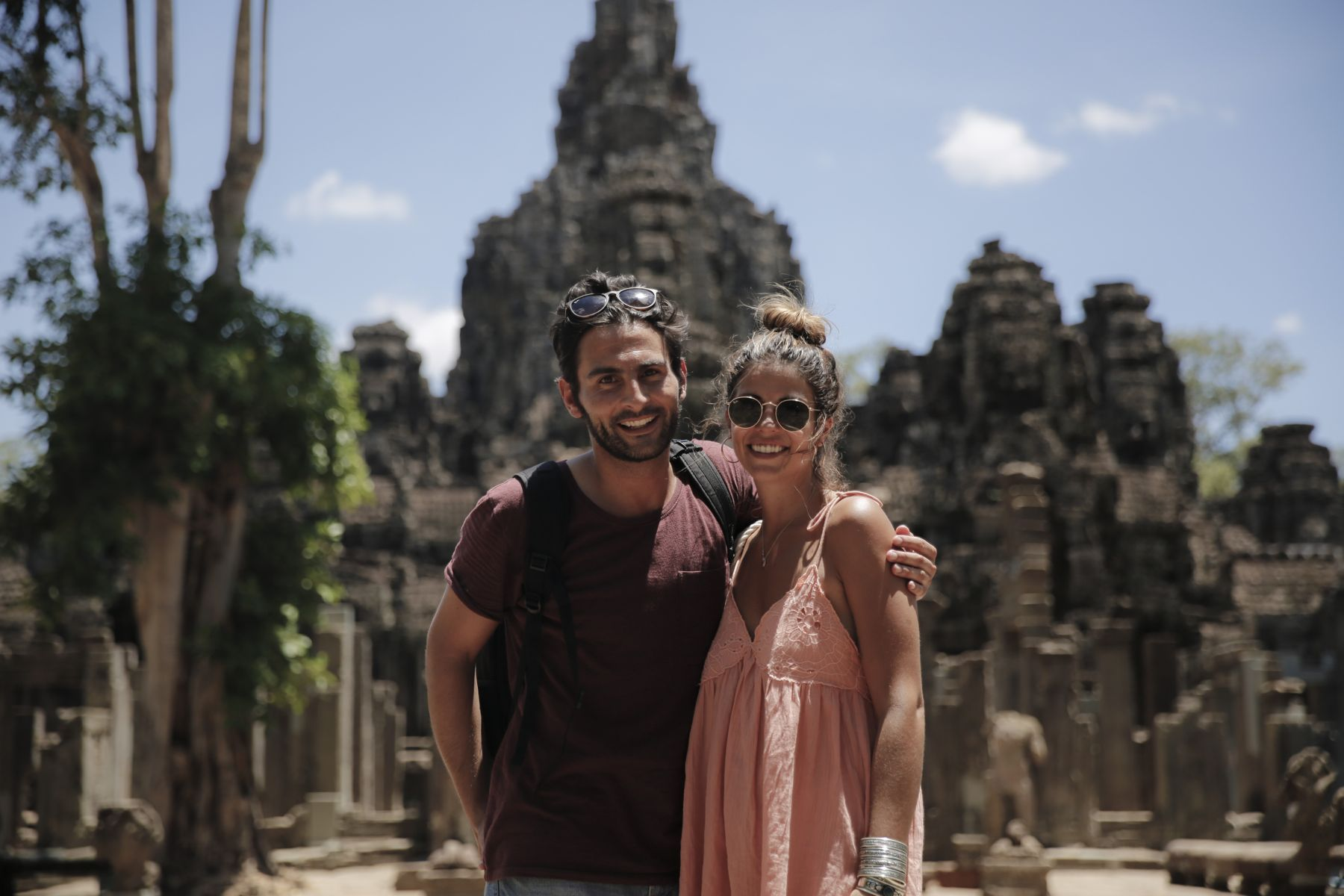 camboya cambodia angkor wat trendy taste summer trip outfit look dress sneakers stan smith vestido zapatillas asos adidas _26