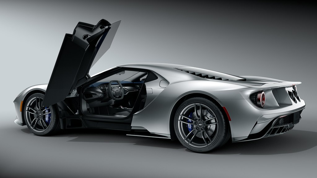 Use of color highlights the innovative details found throughout Ford GT