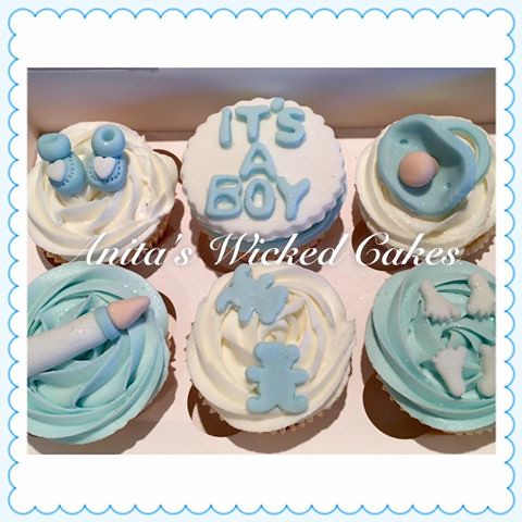 Baby shower cakes/cupcakes