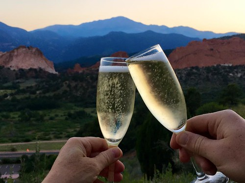 Celebrating our third anniversary at Garden of the Gods