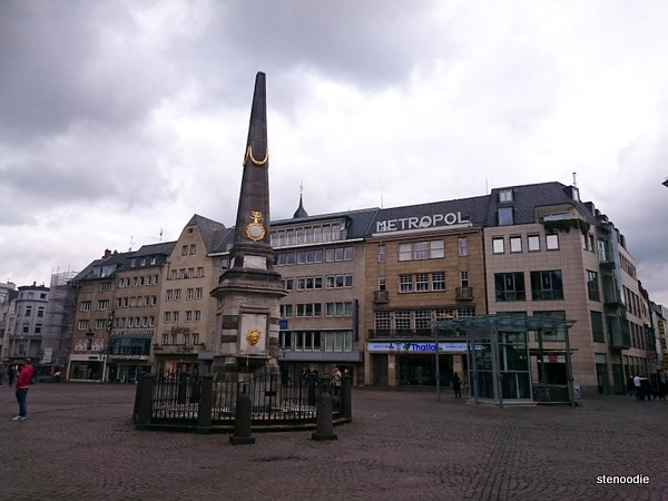 A fountain in the Marktplatz