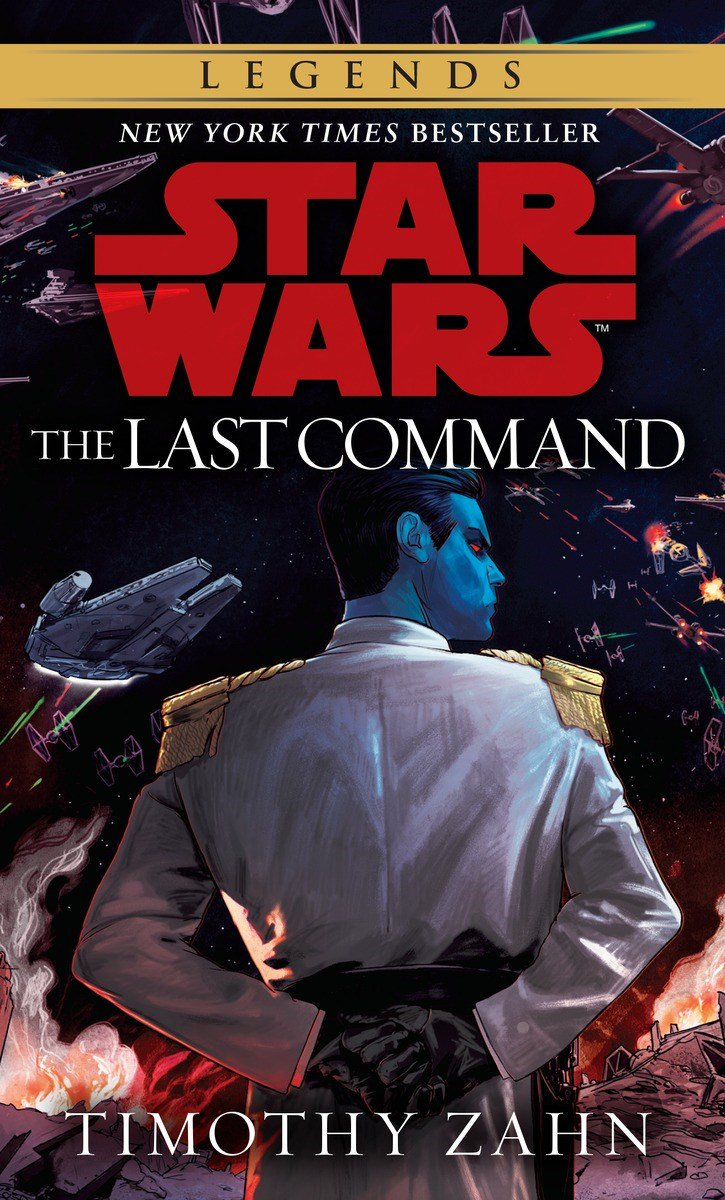 New cover for The Last Command