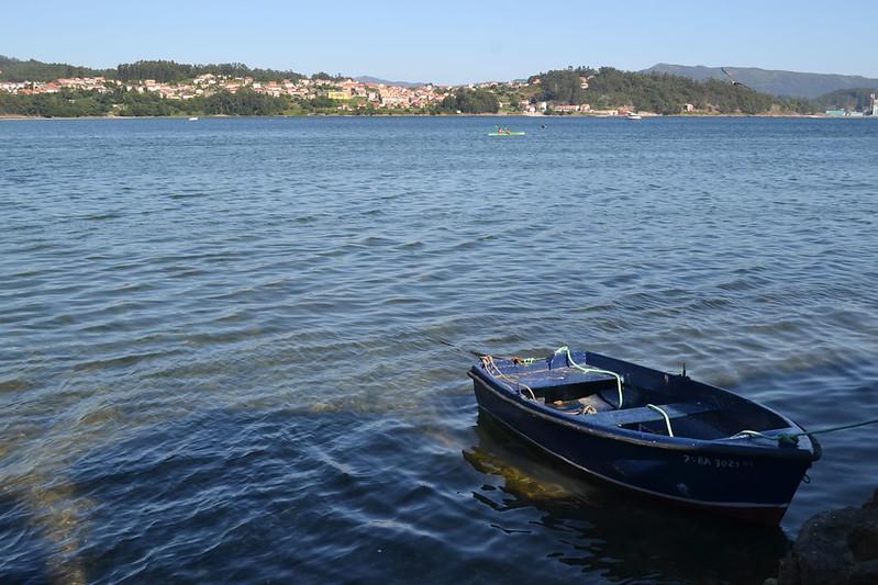 La Ría de Pontevedra desde Combarro.