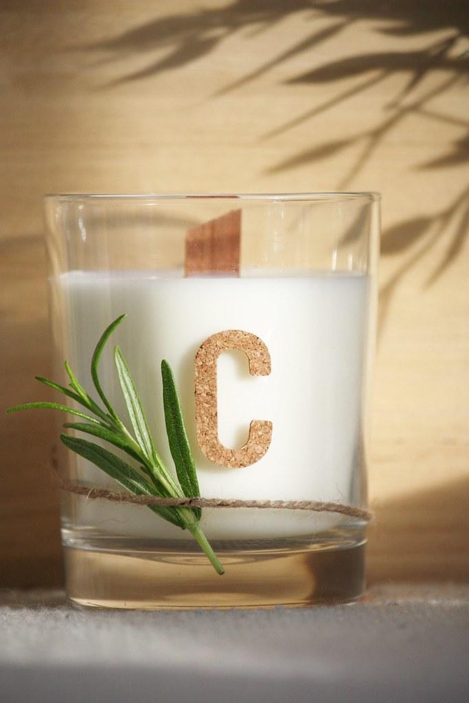 DIY-citronella-kynttilä