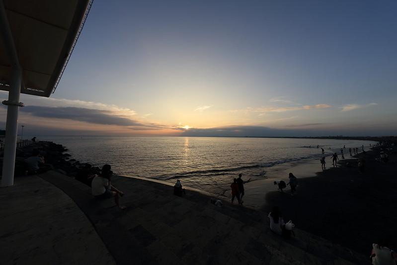 片瀬海岸西浜