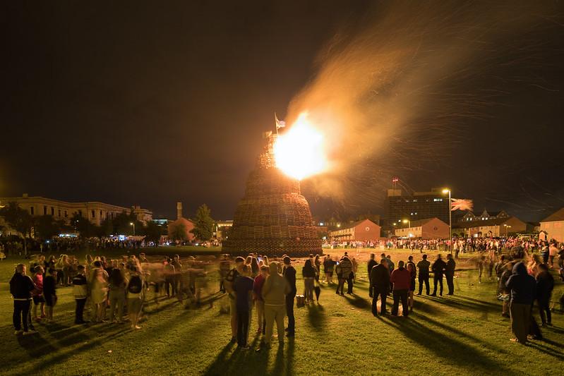 The Shankill Bonfire