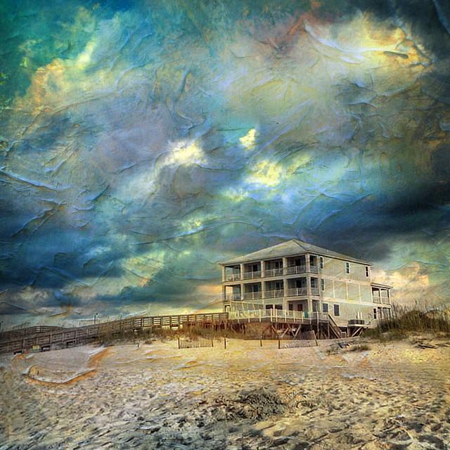 Orange Beach Sky