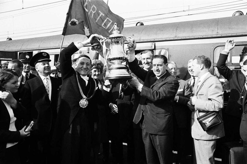 Harry Catterick with 1966 FA Cup