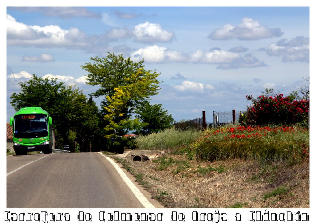 Carretera de Colmenar a Chinchón