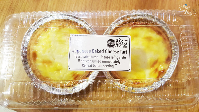 john king japanese baked cheese tarts