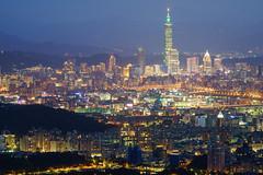 碧山巖藍調夜景