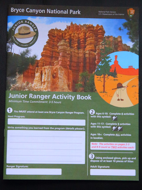 IMG_8031 Junior Ranger Activity Book