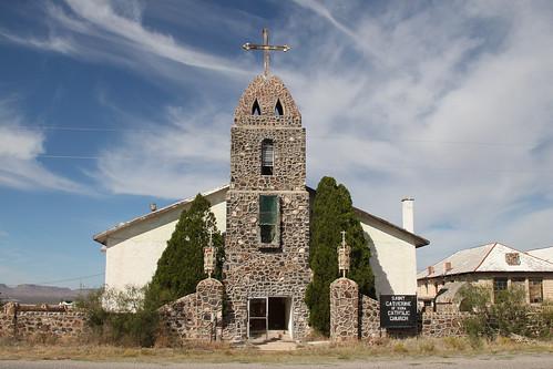 St Catherine of Siena Catholic Mission Church, Hachita, NM