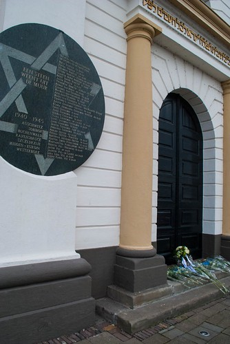 Holocaust Memorial on Kampen Synagoge