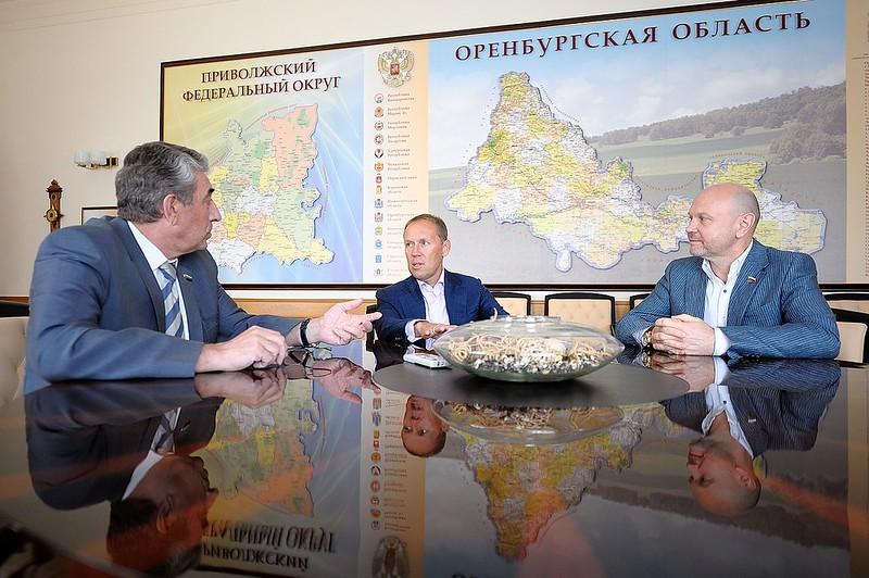 2016-06-24 Итоги визита Андрея Лугового в Оренбуржье