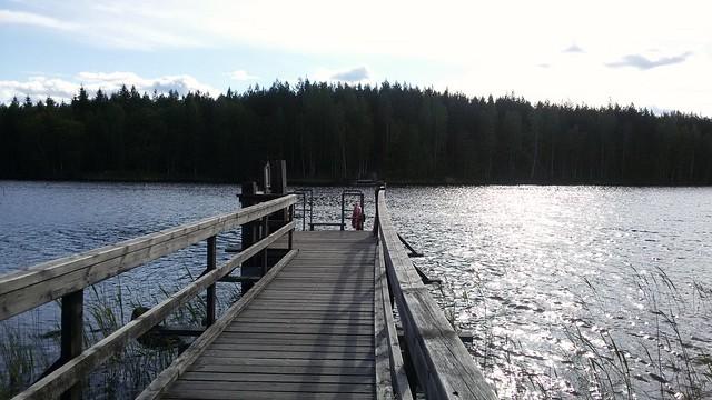 Паром через озеро