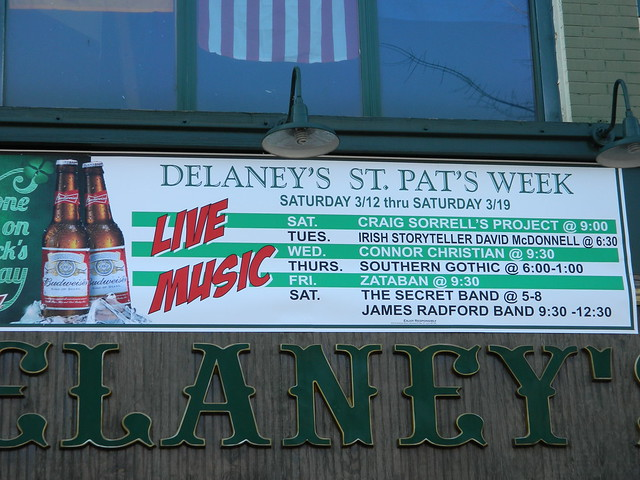 Delaney's week sign