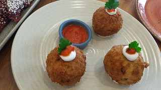 Arancini Special at Vege Rama West End
