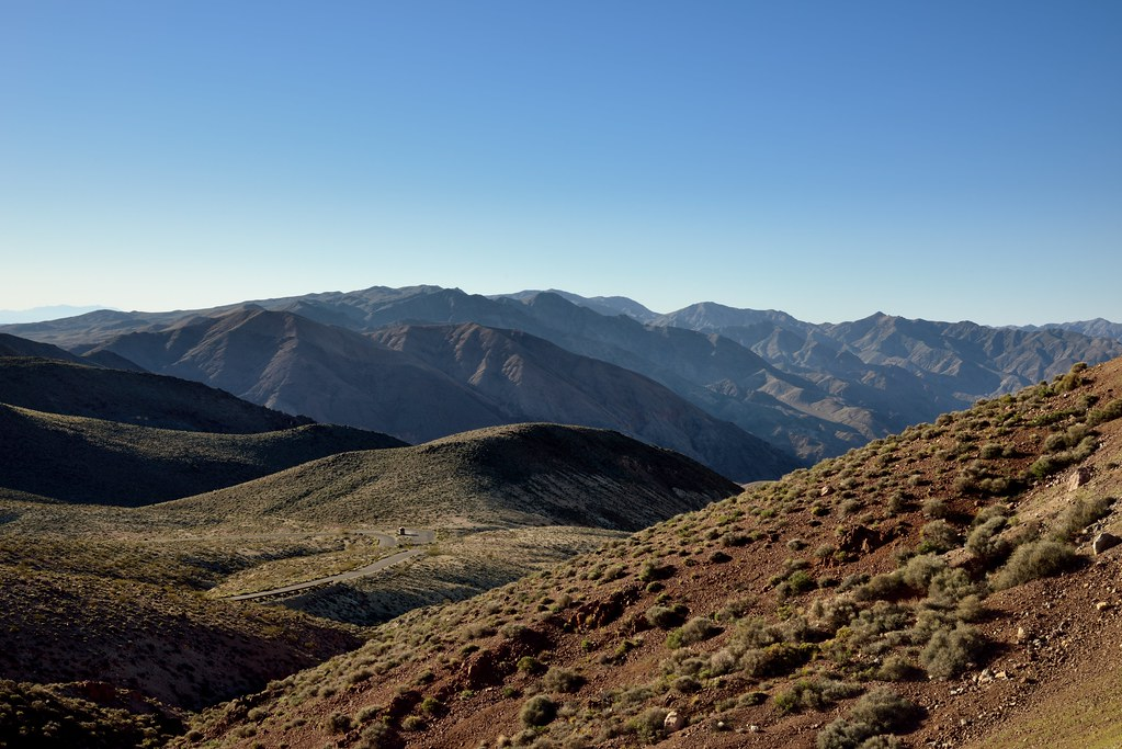 The Rolling Hillsides and Peaks of the Black Mountains and Amaragosa Range (Death Valley National Park)