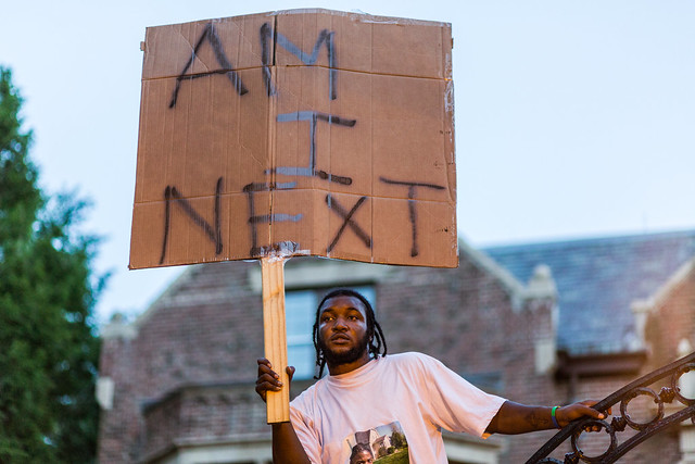 """Am I next?"" - Justice for Philando Castile"