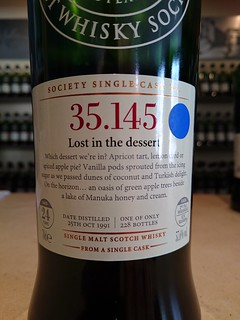 SMWS 35.145 - Lost in the dessert