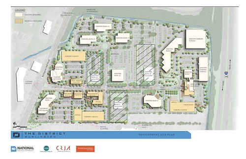 The District Site Plan