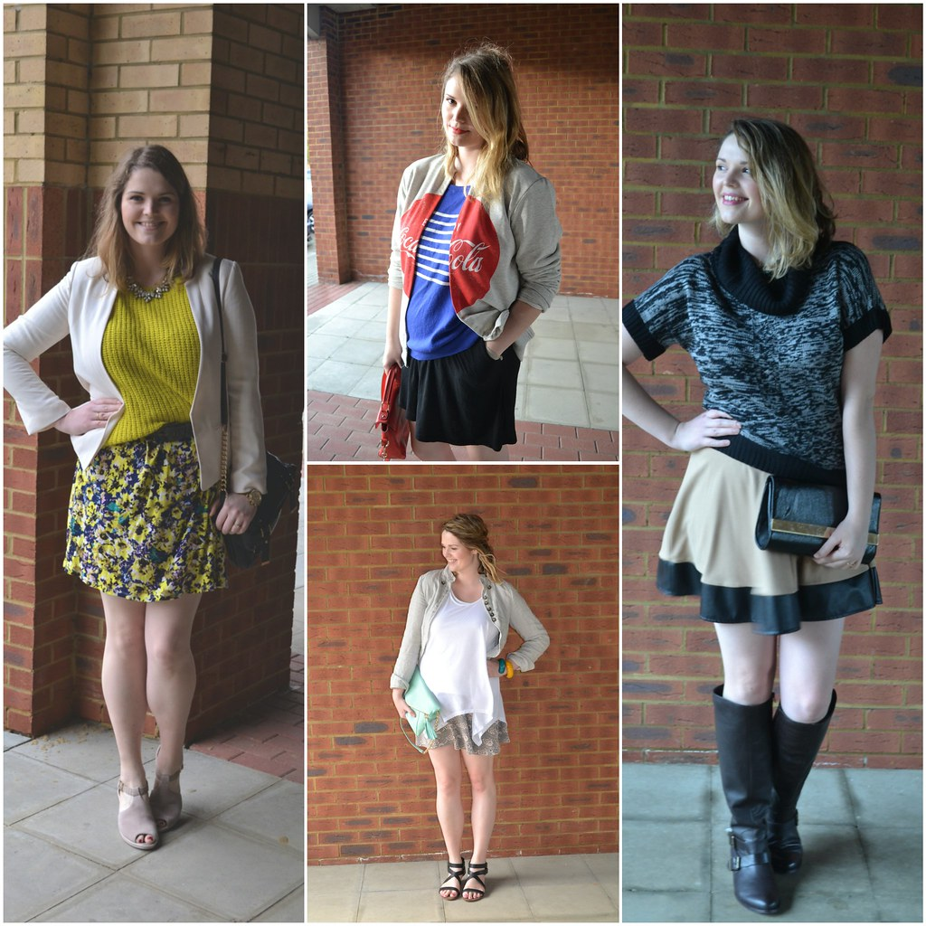 Skirts - dresses and layers