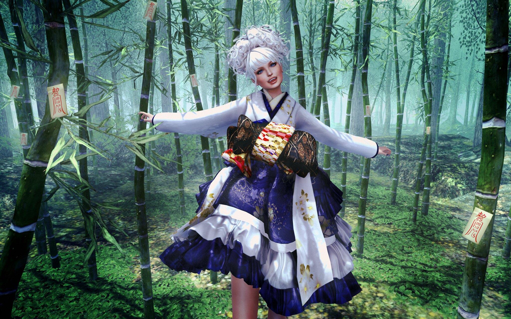 W-ZERO Kimono Dress@Japonica