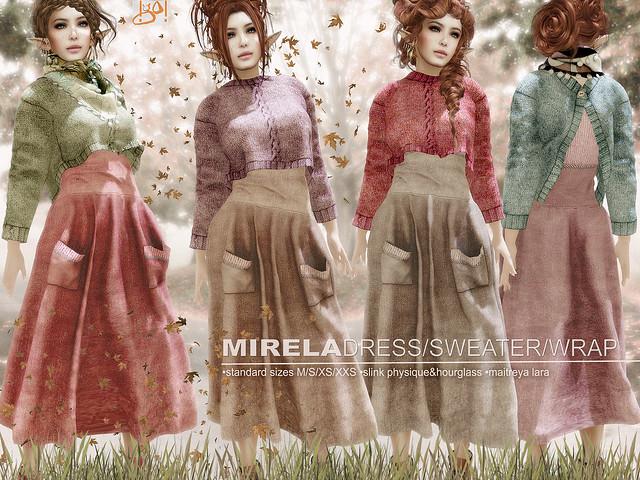 !gO! Mirela dress-sweater-wrap - vendor
