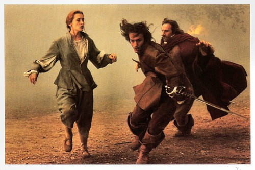 Anne Brochet, Vincent Perez and Gérard Depardieu in Cyrano de Bergerac (1990)