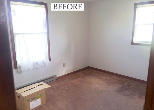 One Room Challenge Tween Bedroom Before