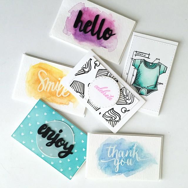 Tiny cards