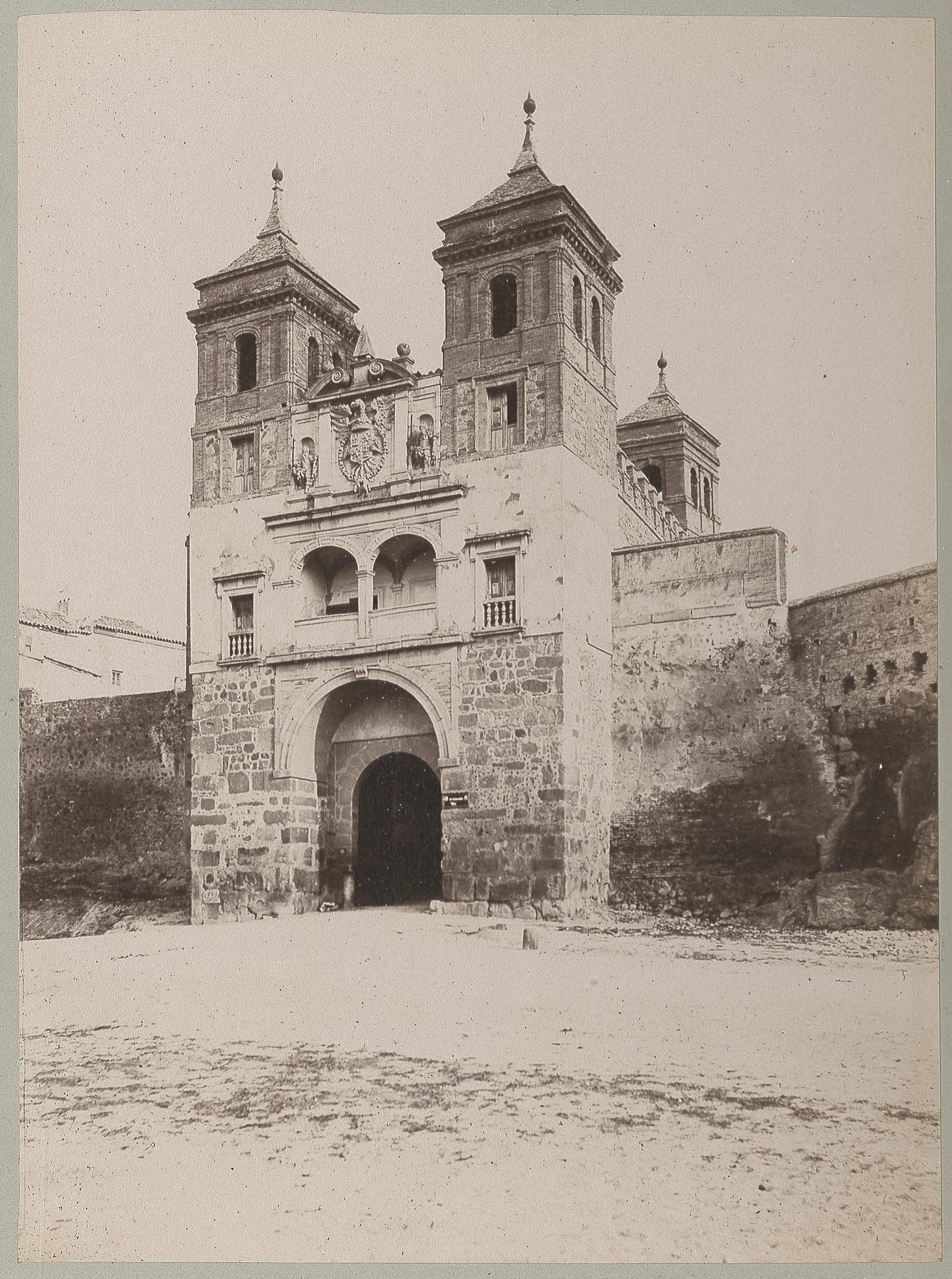 Puerta del Cambrón en 1886 © Archives départementales de l'Aude