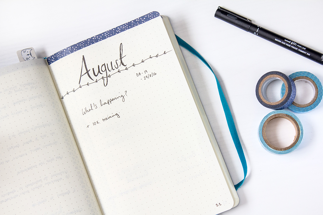 Washi Tape Hack for Bullet Journals and Planning | lifeofkitty.co.uk
