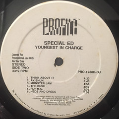 SPECIAL ED:YOUNGEST IN CHARGE(LABEL SIDE-B)