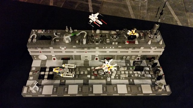Death Star trench run - Micro MOC - LEGO Star Wars
