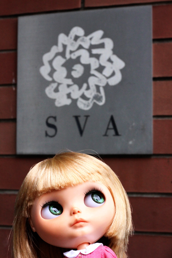 Ricky Visits The School of Visual Arts in NYC