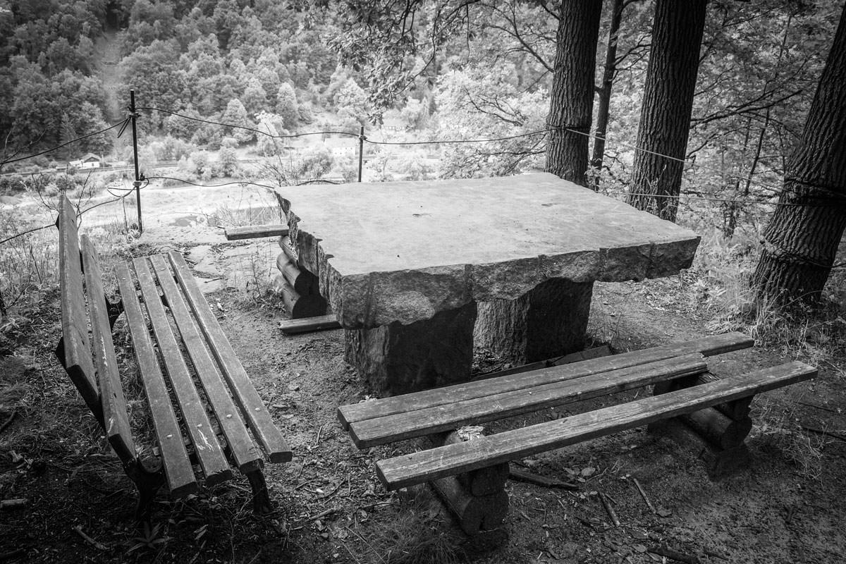 Auf dem Steinbruchpfad