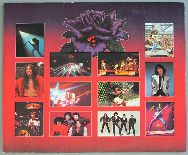 "THIN LIZZY BLACK ROSE A ROCK LEGEND ORIG UK 12"" LP VINYL"
