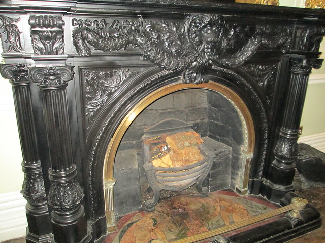 Kylemore Abbey Fireplace Close Up