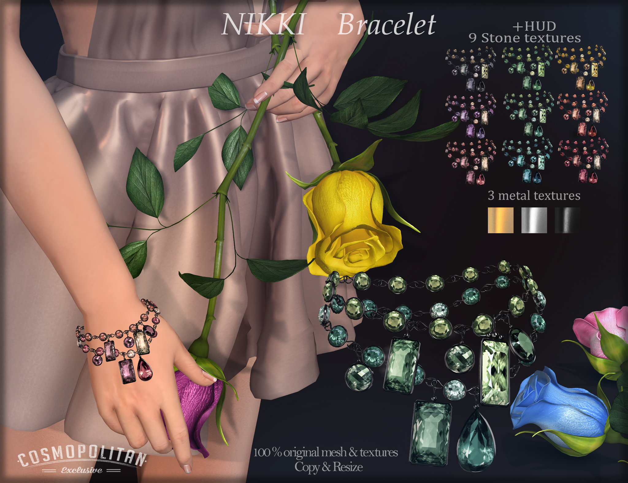 AvaWay Nikki_Bracelet
