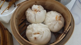 Steamed Pork Buns from Easy House Vegetarian