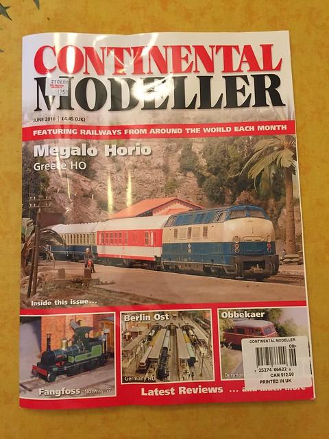 Continental Modeller, June 2016