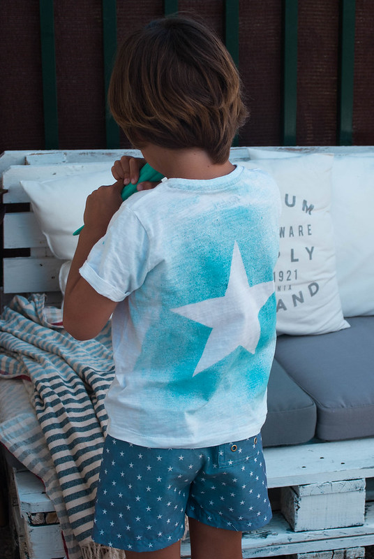 Tunea tus camisetas con fashion spray de La Pajarita