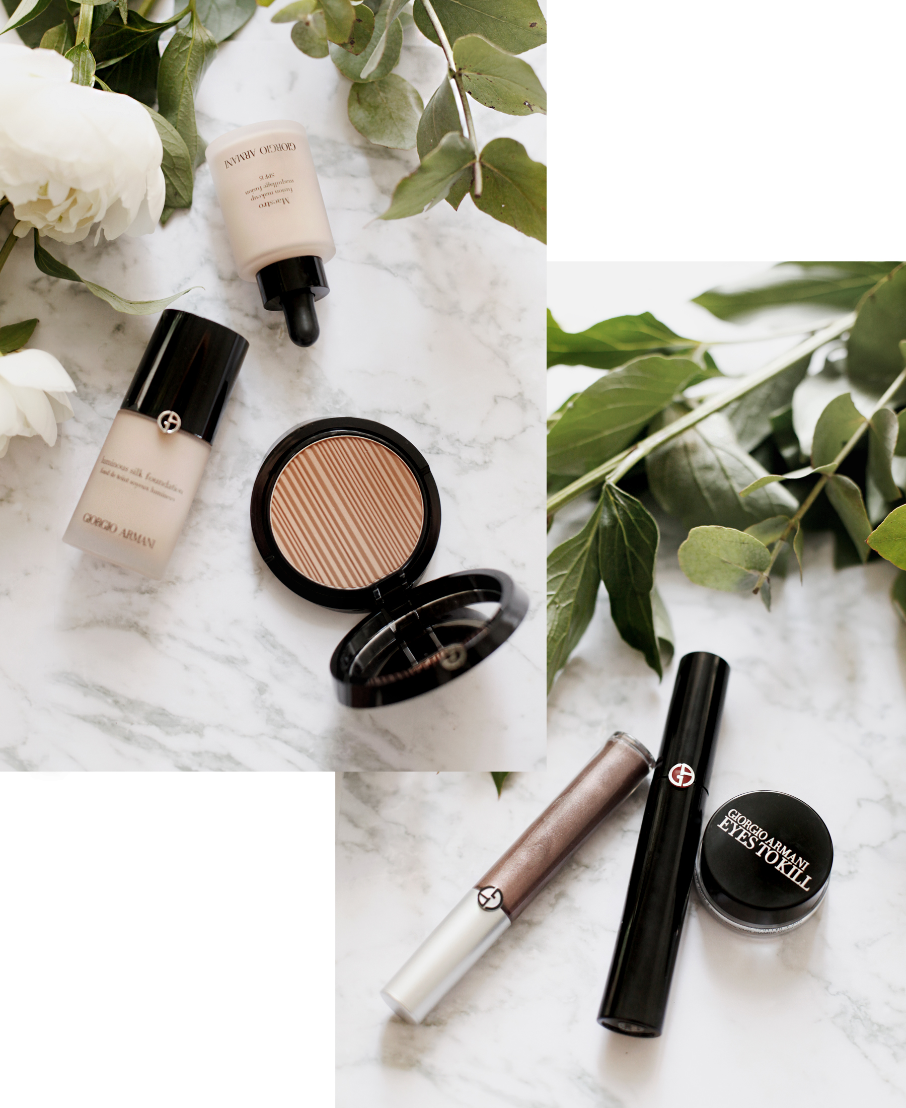 armani beauty makeup beauty beautyblogger bronzer red lipstick luxury products douglas mascara marble peony white flatlay cats & dogs beautyblog ricarda schernus schminke bloggerin 2