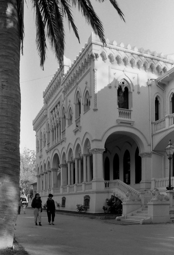 Palacio Vergara (Viña del Mar) [neg-ByN]