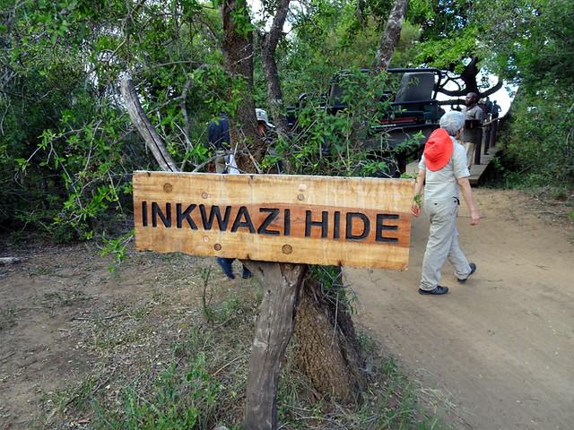Lion Sands Safari Day 3- Breakfast at Inkwazi Hide